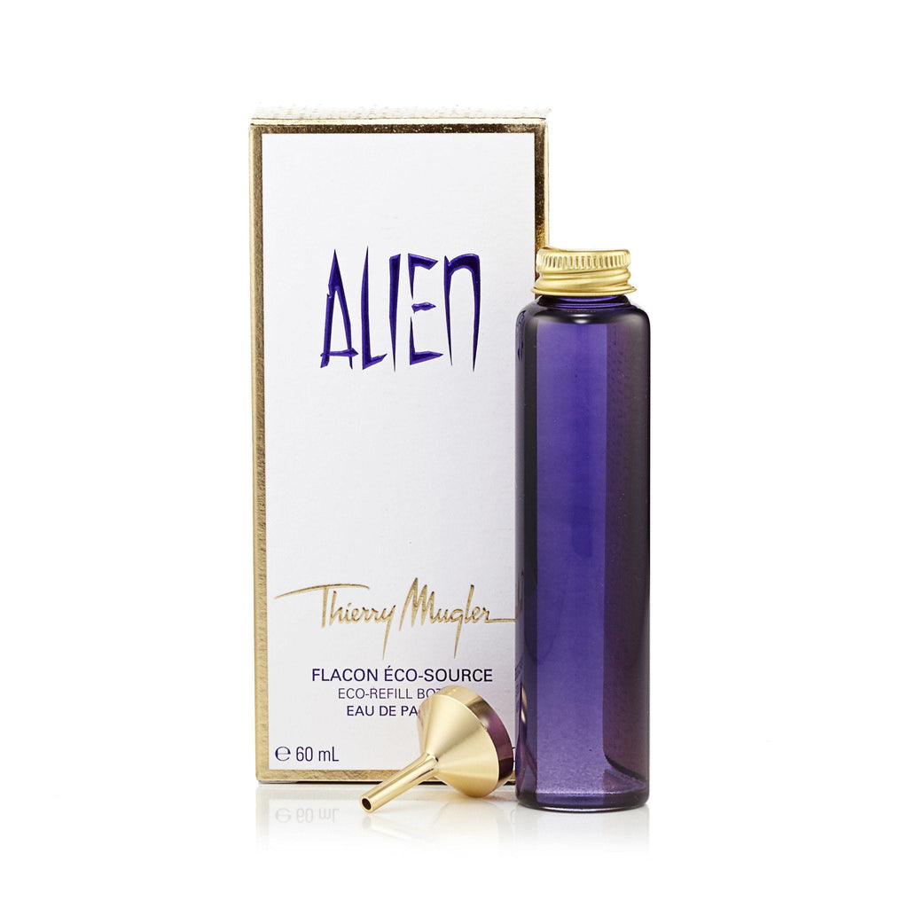 Alien Refill Bottle Eau de Parfum for Women by Thierry Mugler 2.0 oz.