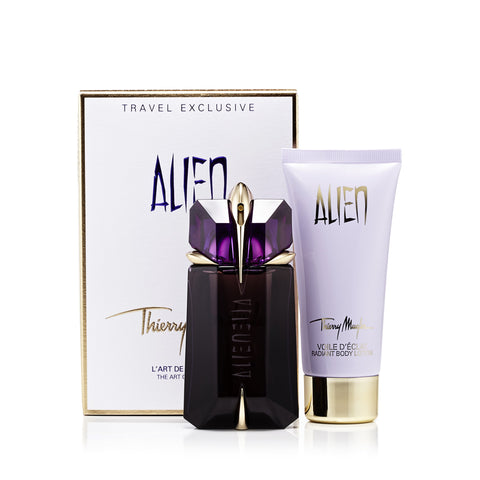 Alien Gift Set Eau de Parfum and Body Lotion for Women by Thierry Mugler