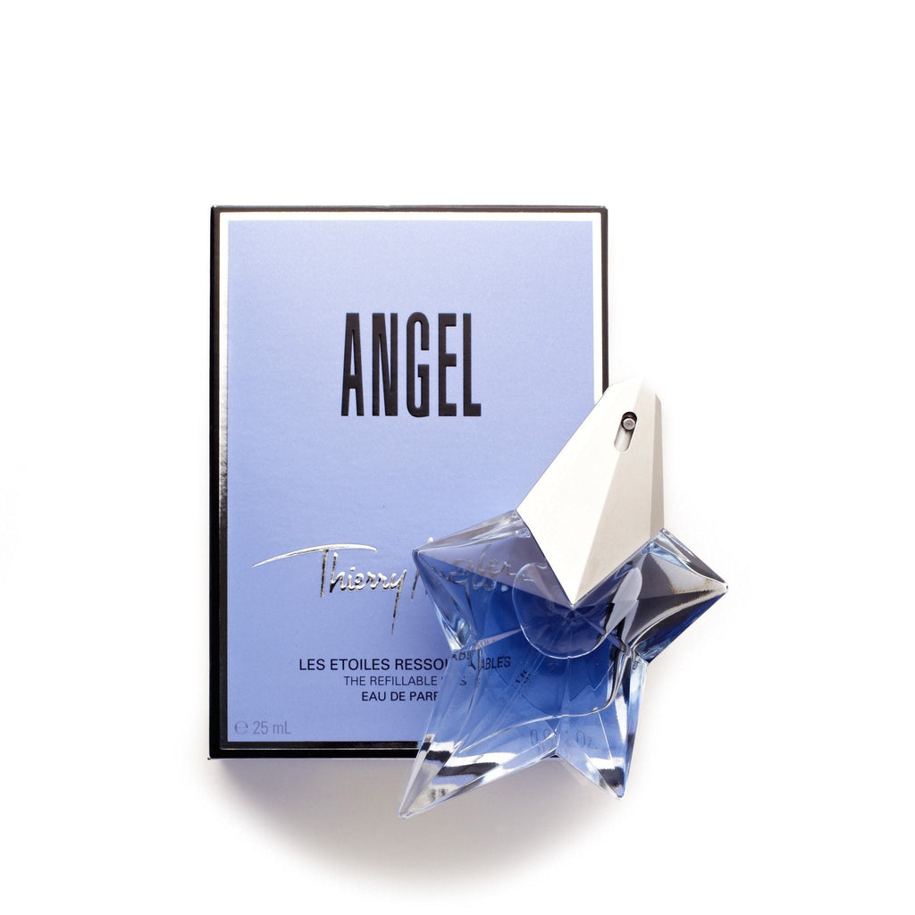 Thierry Mugler Angel Refillable Eau de Parfum Womens Spray 0.8 oz.