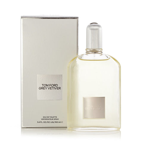 Grey Vetiver Eau de Toilette Spray for Men by Tom Ford 3.4 oz.