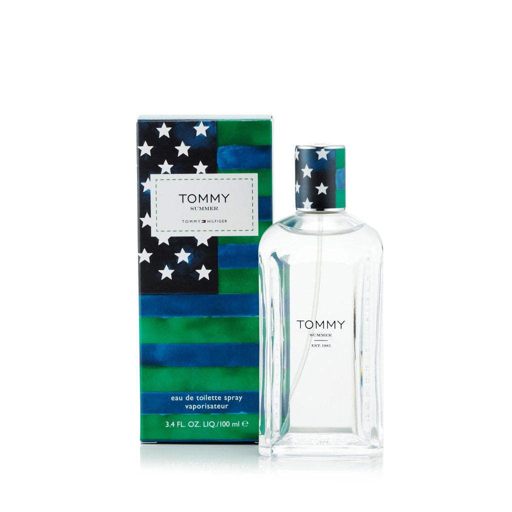 Tommy Summer Eau de Toilette Spray for Men by Tommy Hilfiger 3.4 oz.