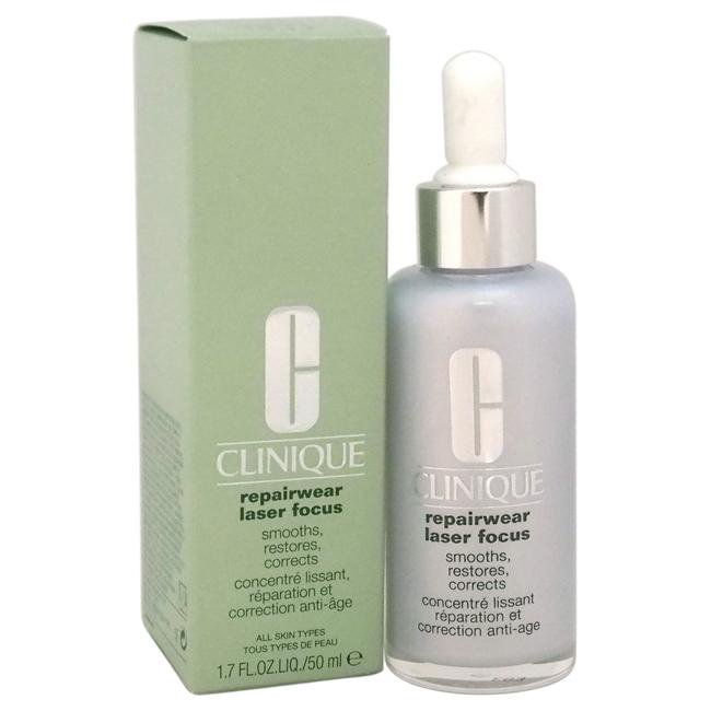Repairwear Laser Focus Smooths, Restores, Corrects - All Skin Types by Clinique for Unisex - 1.7 oz