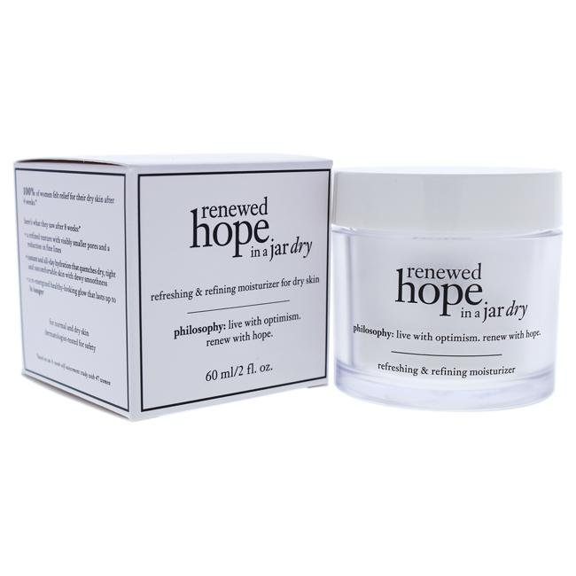 Renewed Hope In a Jar Dry Refreshing and Refining Moisturizer For Dry Skin by Philosophy for Unisex -