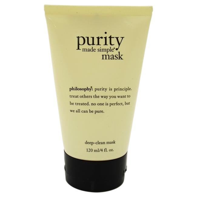 Purity Made Simple Deep-Clean Mask by Philosophy for Unisex - 4 oz Mask