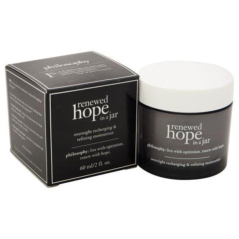 Renewed Hope In A Jar Overnight Recharging and Refining Moisturizer by Philosophy for Unisex - 2 oz Mimage