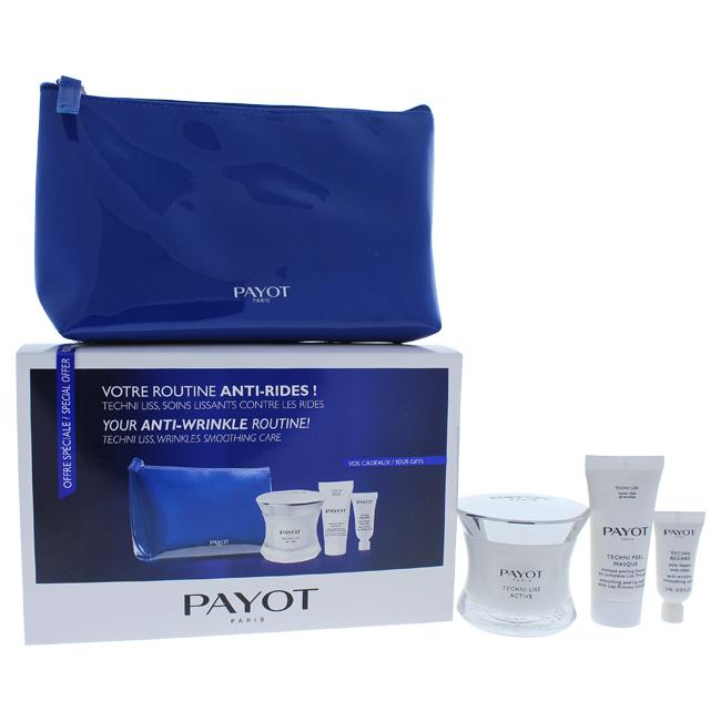 Techni Liss Anti-Wrinkle Set by Payot for Unisex - 4 Pc Set