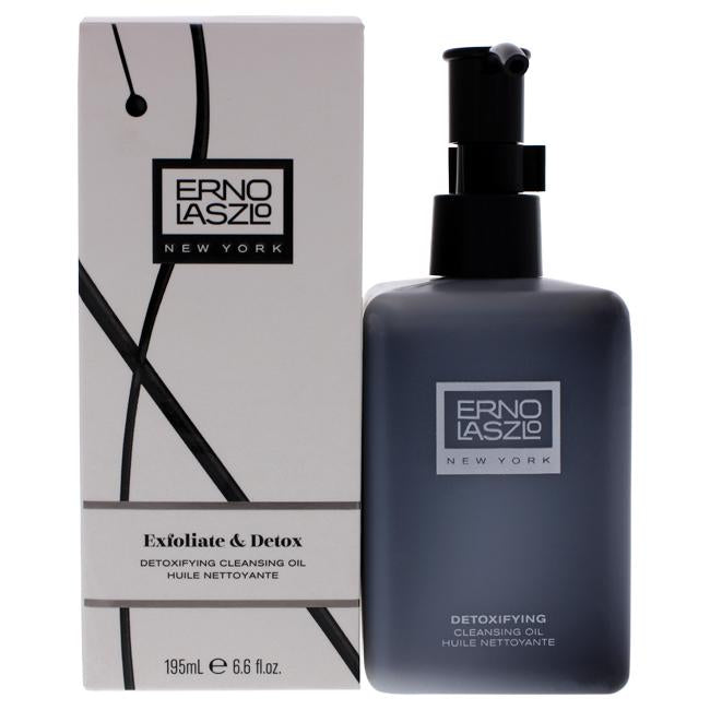 Exfoliate and Detox Cleansing Oil by Erno Laszlo for Unisex - 6.6 oz Cleanser