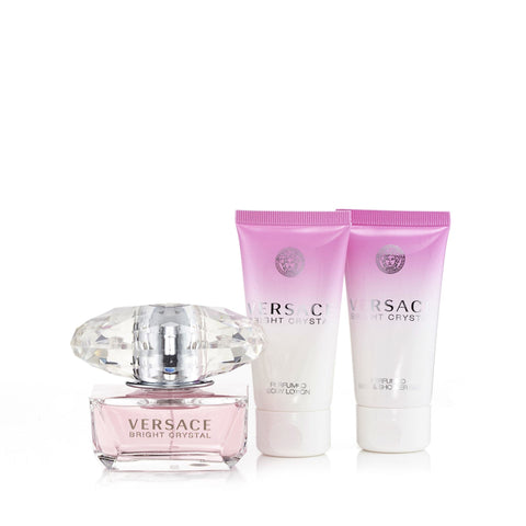 Versace Bright Crystal Gift Set Womens 1.7 oz.