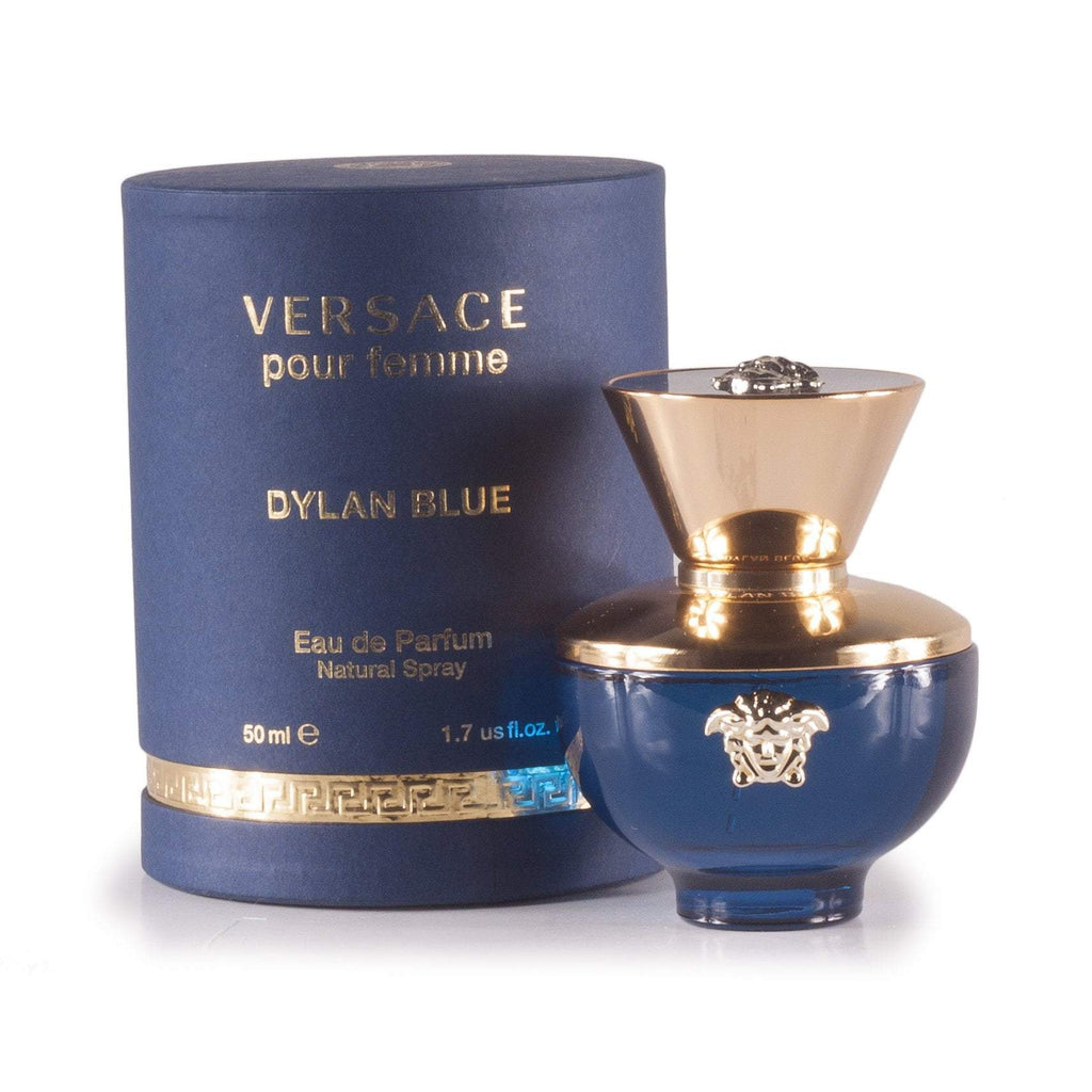 Dylan Blue Eau de Parfum Spray for Women by Versace 1.7 oz.