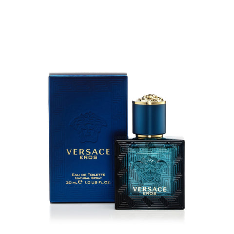 Versace Eros Eau de Toilette Mens Spray 1.0 oz.