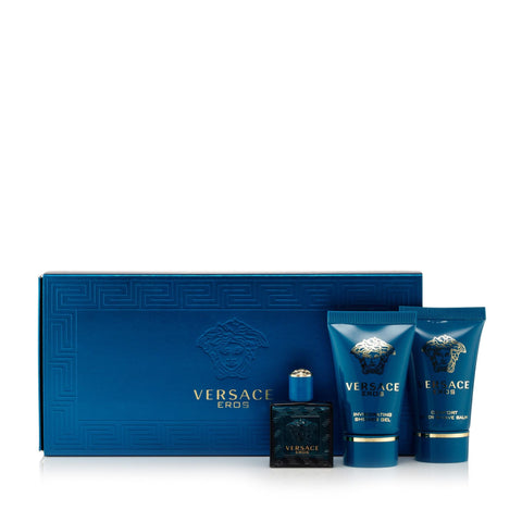 Versace Eros Gift Set Mens 0.17 oz.