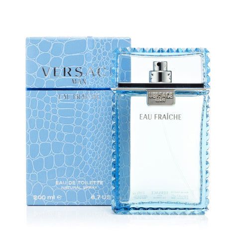 Versace Man Eau Fraiche Eau de Toilette Mens Spray 6.7 oz.