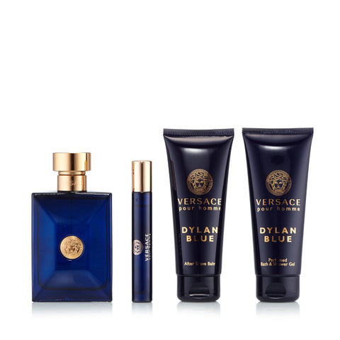 Dylan Blue Gift Set for Men by Versace 3.4 oz.