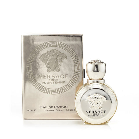 Versace Eros Eau De Parfum Womens Spray 17 Oz