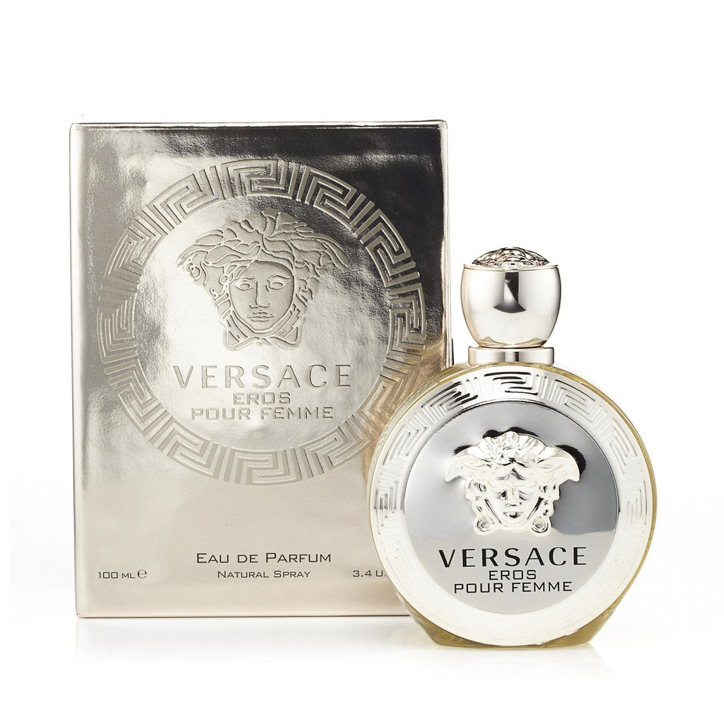Versace Eros Eau de Parfum Womens Spray 3.4 oz.