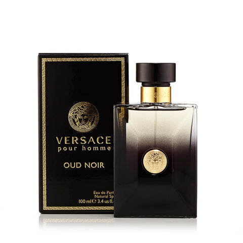 Oud Noir Eau de Parfum Spray for Men by Versace 3.4 oz.