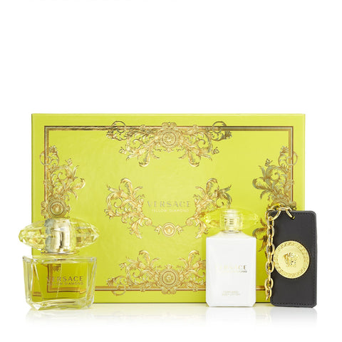 Yellow Diamond Gift Set for Women by Versace 3.0 oz.