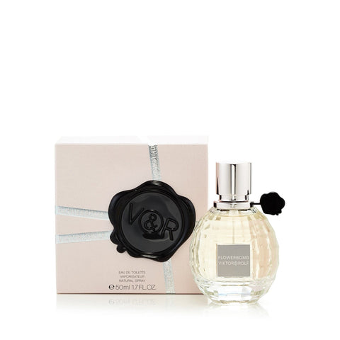 Flowerbomb Eau de Toilette Spray for Women by Viktor & Rolf 1.7 oz.