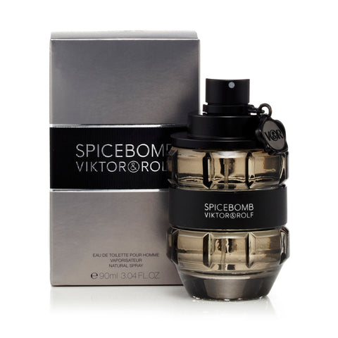 Viktor & Rolf Spicebomb Eau de Toilette Mens Spray 3 oz.