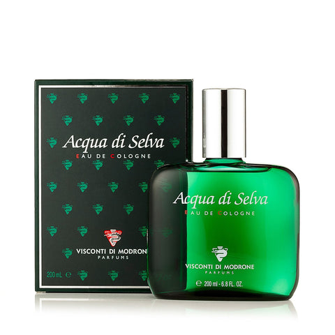 Acqua Di Selva Eau de Cologne for Men by Visconti Di Modrone 6.8 oz
