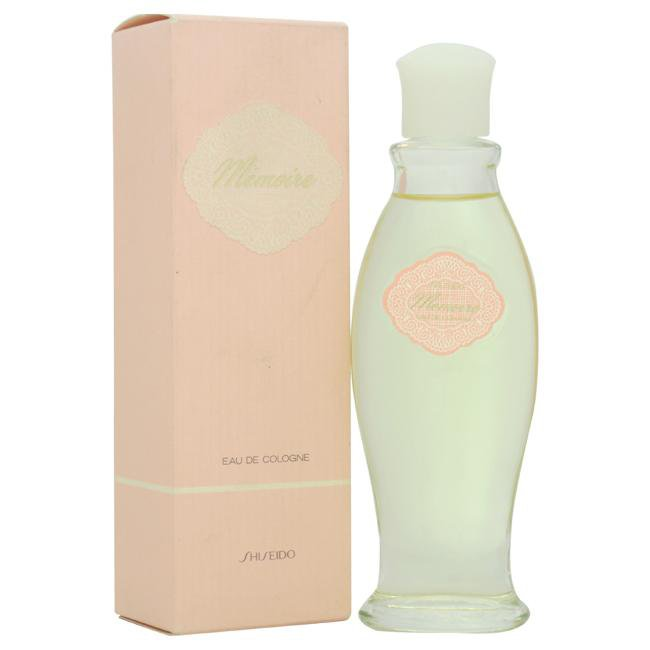 MEMOIRE BY SHISEIDO FOR WOMEN -  Eau De Cologne SPLASH