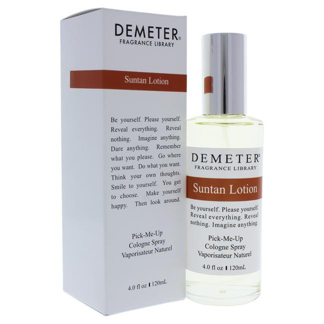 SUNTAN LOTION BY DEMETER FOR WOMEN -  COLOGNE SPRAY