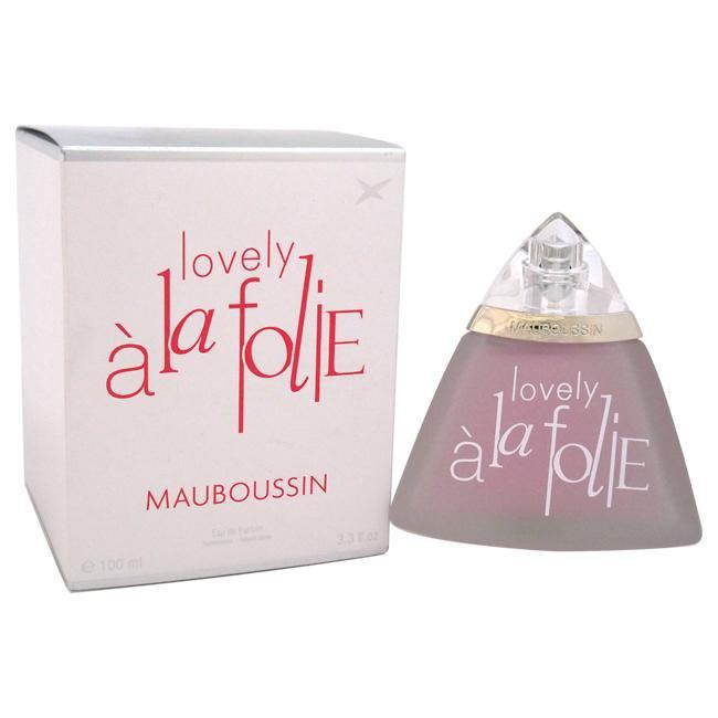 LOVELY A LA FOLIE BY MAUBOUSSIN FOR WOMEN -  Eau De Parfum SPRAY