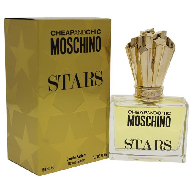 CHEAP AND CHIC STARS BY MOSCHINO FOR WOMEN -  Eau De Parfum SPRAY