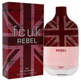 FCUK REBEL BY FRENCH CONNECTION UK FOR WOMEN -  Eau De Parfum SPRAY