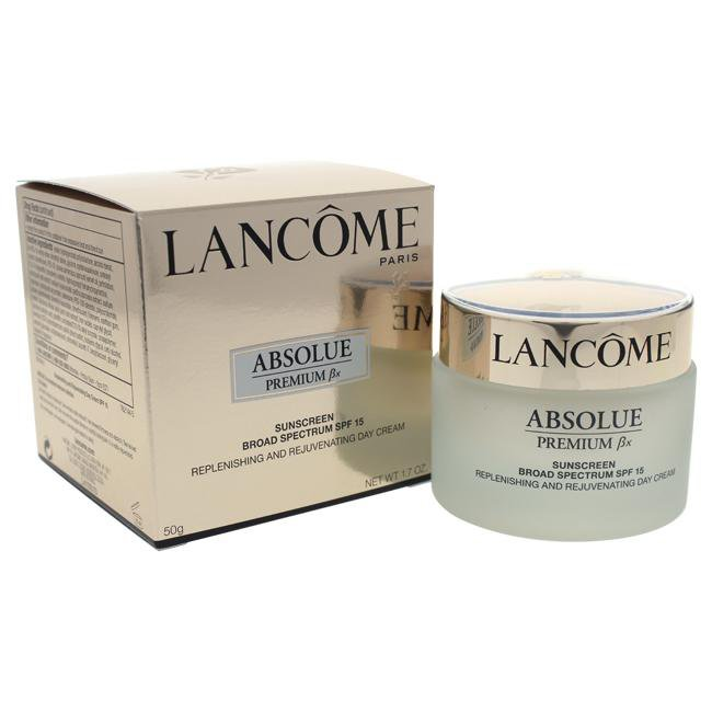 Absolue Premium Bx Replenishing & Rejuvenating Day Cream SPF 15 by Lancome for Women - 1.7 oz Cream
