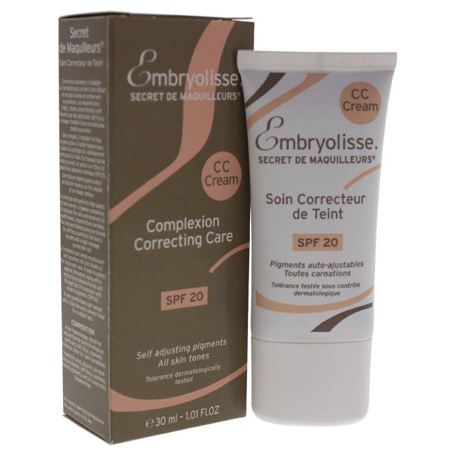 Cc Cream Complexion Correcting Care SPF 20 by Embryolisse for Women - 1 oz Cream