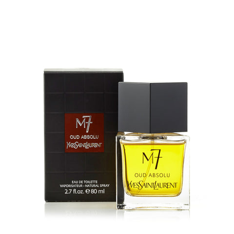 M7 Oud Absolu Eau de Toilette Spray for Men by Yves Saint Laurent 2.7 oz.