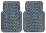 Machine Washable Car Mats - Chevron Large Front Set