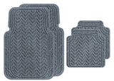 Machine Washable Car Mats - Chevron Large Full Set