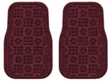 Machine Washable Car Mats - Paw Print Medium Front Set