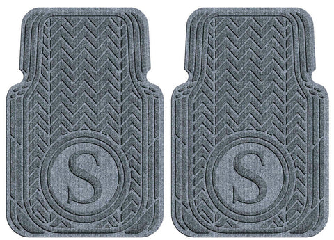 Machine Washable Car Mats - Monogram Large Front Set