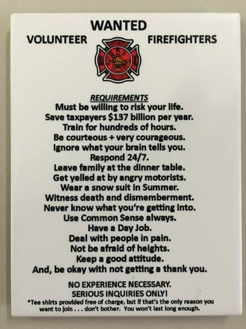 vol fire fighter requirements, shirts, fire dept. family t shirt