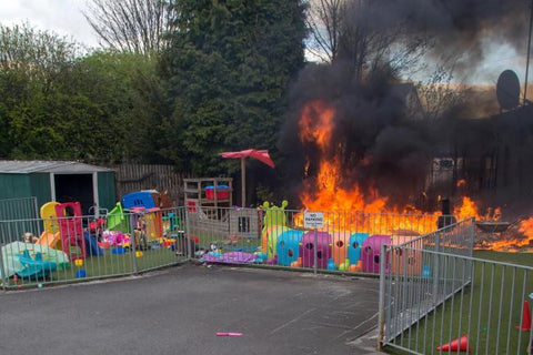 Nursery Schools Fire, Dove Designs
