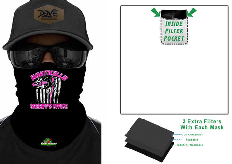 Cops For A Cure SHERIFF GaiterSaver Filtered Neck Gaiter (GS-SOBCCUFF)