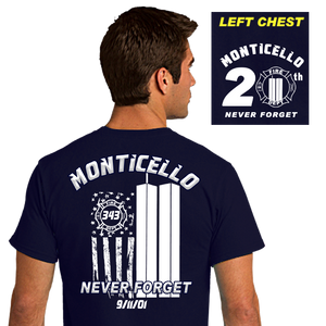 9/11 20th Memorial Shirt (DD-91120TH)