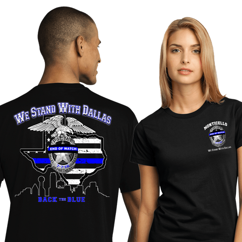 We Stand With Dallas  (DD-BTBTX) 24 Pc. Min., Awareness Shirts, dovedesigns.com, Dove Designst-shirts, shirts, hoodies, tee shirts, t-shirt, shirts
