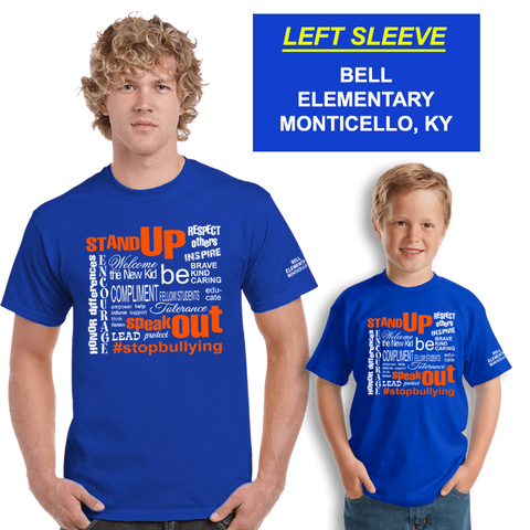 Bullying Awareness Shirts (DD-BULLY), Awareness Shirts, dovedesigns.com, Dove Designst-shirts, shirts, hoodies, tee shirts, t-shirt, shirts