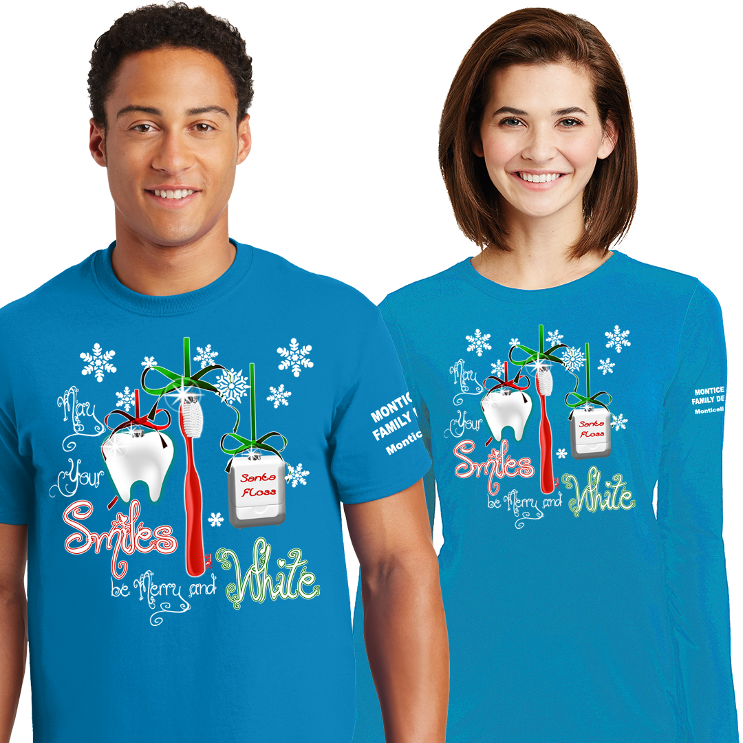 Dental Holiday Shirts (DD-DENHOL17)