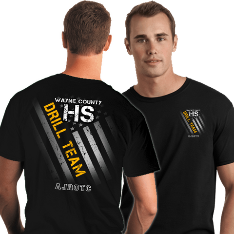 Drill Team Shirts (DD-DRILLFLAG), JROTC Shirts, dovedesigns.com, Dove Designst-shirts, shirts, hoodies, tee shirts, t-shirt, shirts