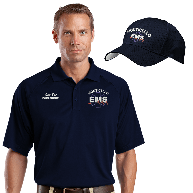 EMS Embroidered Moisture-Wicking Combo (DD-ETACC)