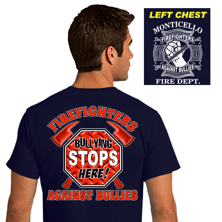 Firefighter Awareness Shirts (DD-FDBULLY2)