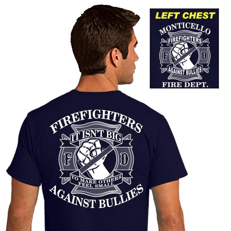 Firefighter Awareness Shirts (DD-FDBULLY)
