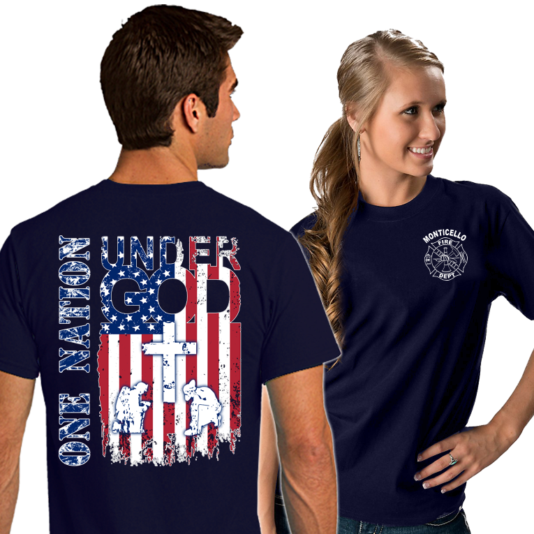Fire Department Supporter Shirts (DD-FDONENATION)