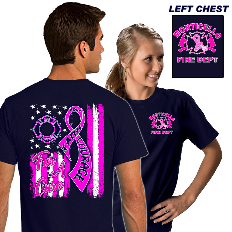 Fire Department Breast Cancer Shirts Fire Duty Shirts Dove Designs