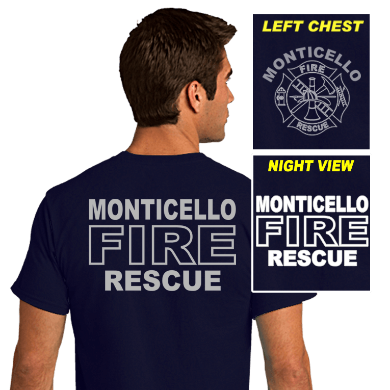 Fire Department Reflective Shirts (DD-FDREF1)
